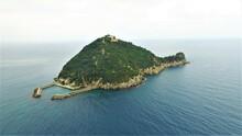 L'isola Gallinara Dal Drone - Albenga - Liguria - Italy