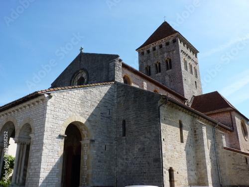 Carta da parati Eglise Saint André Sauveterre de Béarn