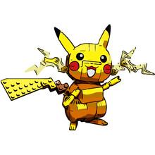 Blocky Pikachu Lego Pokemon
