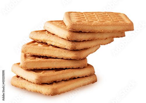 Fototapeta Shortbread cookies for tea