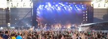 Summer Music Festival Concert Crowd