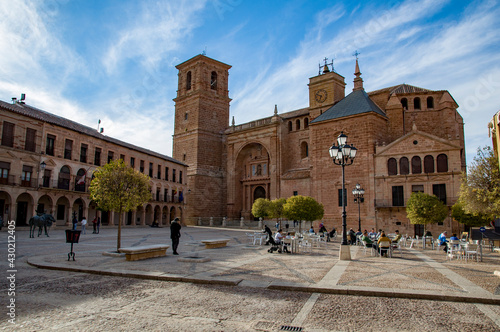 Villanueva de los Infantes, Ciudad Real, Castilla la Mancha, España Fototapeta