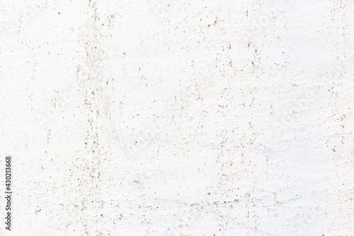 Old, rusty, painted white metal background with scratches.