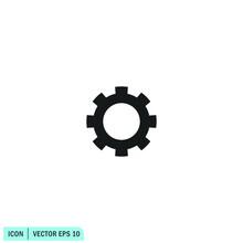 Gear Wheel Ison Setting Symbol