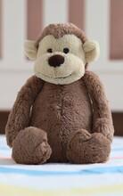 Stuffed Monkey On The Floor