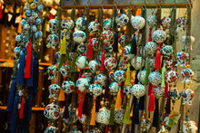 Colorful Turkish Ceramic Balls As Souvenirs