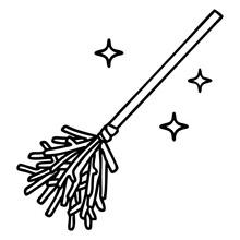 Magic Broomstick Sweeping