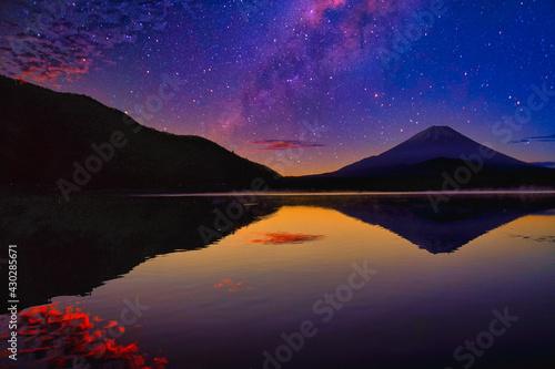 Canvas 富士山と星景合成