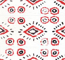 Shawl Boho Fabric. Teal Dye Intricate Navajo