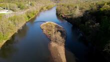 Turner Valley Yough River Aerial