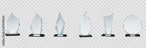 Carta da parati Glass Trophy Awards template