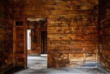 Inside Abandoned Home In Animas Forks Ghost Town