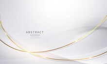 Abstract Background Luxury White Gold Modern