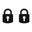 Lock vector icon, padlock icon, vector isolated symbol
