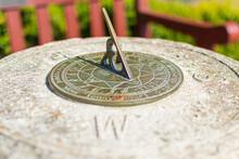 Sundial In The Garden