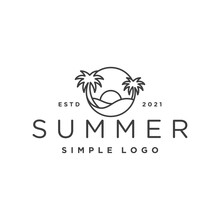 Paradise Beach House Logo Design