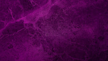 Luxury Italian Purple Stone Pattern Background. Violet Stone Texture Background With Beautiful Soft Mineral Veins. Dark Pink Color Marble Natural Pattern For Background, Exotic Abstract Limestone.