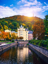 World-famous For Its Mineral Springs, The Town Of Karlovy Vary (Karlsbad) Was Founded By Charles IV In The Mid-14th Century.
