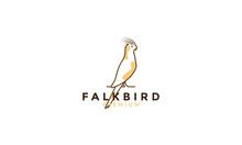Lines Art Colorful Cockatiel Bird Logo Vector Symbol Icon Design Graphic Illustration