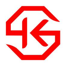 Monogram Logo, Letter T With Arrow Design Template.