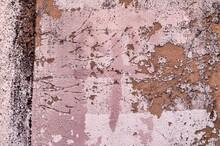Peeling White Wall Background Texture