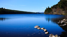 Loch Midgale, Bonar Bridge, Sutherland. Highlands Of Scotland