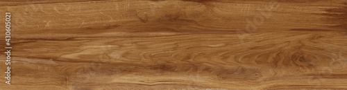 Obraz Natural oak texture with beautiful wooden grain, walnut wooden planks, Grunge wood wall - fototapety do salonu