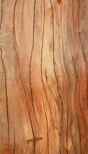 The Brown Texture Of Hard Wood With Craked Line On Surface