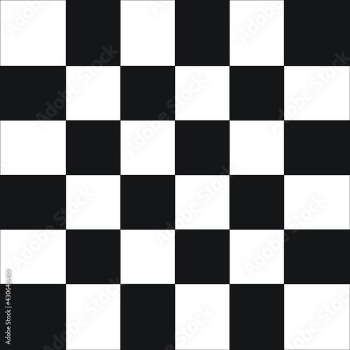 Tela black chess board