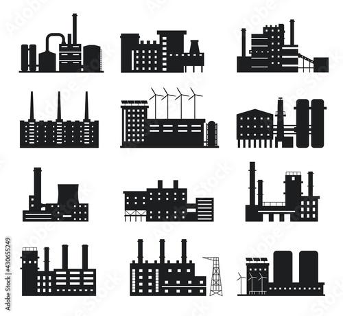 Foto Factory silhouette
