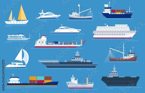 Canvas-taulu Sea boats