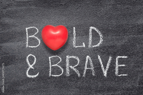 Tela bold and brave heart