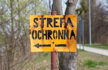 Znak, Strefa Ochronna