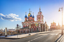 St. George Church On Varvarka Street In Moscow