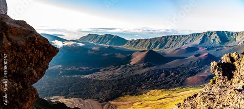 Fotografía Haleakala volcano crater,Maui,Hawaii