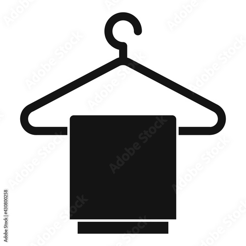 Clothes on hanger icon, simple style Wallpaper Mural