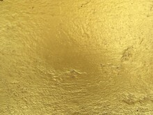 Golden Texture Of The Wall Abstract