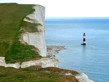 Beachy Head Lighthouse And Cliffs