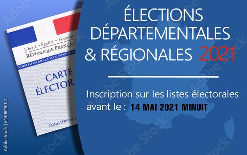 Foto Inscription sur les listes électorales