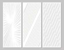 Three Abstracts Backgrounds