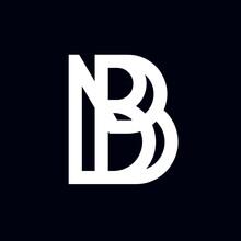 Unique Minimal Style Trendy Unique Matrix Mirror Letter Logo Design Icon Trippy Abstract