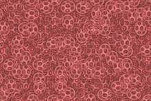 Abstract Fractal Background Brown Spiral Oriental Garden Computer-generated Image.
