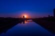 Sonnenuntergang über Mannheim