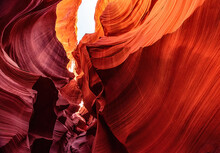 Fomations In Lower Antelope Canyon