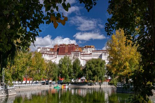 Billede på lærred The Potala Palace - Lhasa - Tibet