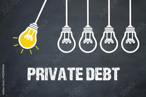 Fotografia Private Debt