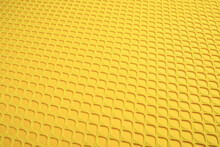 Yellow Fish Scale Grid Texture Background