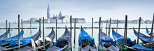 Venice Gondolas Panorama, Italy
