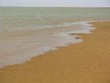 Fototapeta Fototapety z morzem do Twojej sypialni - Brzeg limanu przy morzu Azowskim, Ukraina