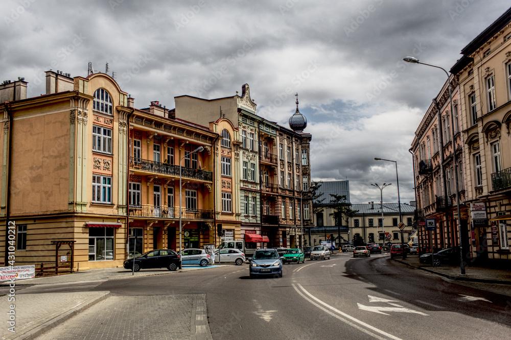 Fototapeta Ulica Przemyskiego grodu
